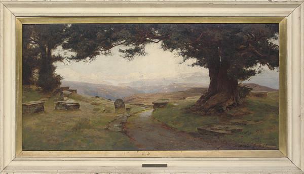 Alfred Oliver, R.A. (fl.1886-1