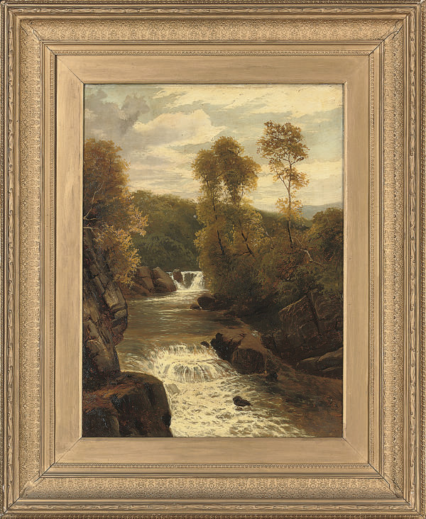 A waterfall, near Cadar Idriss