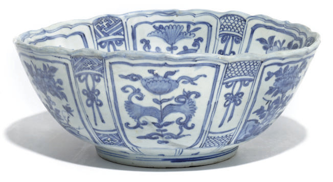 A CHINESE BLUE AND WHITE KRAAK
