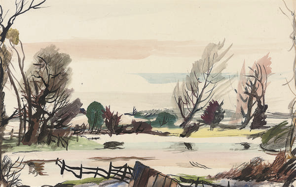 The River near Bures, Suffolk