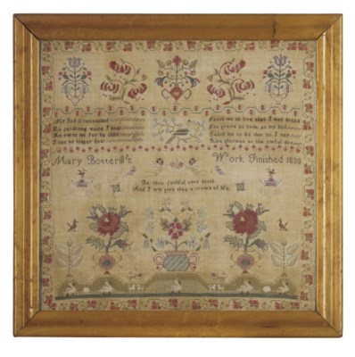 A SAMPLER BY MARY BOTTERILL