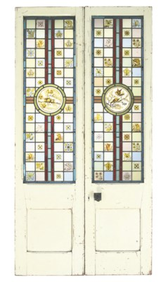 A PAIR OF LATE VICTORIAN WHITE