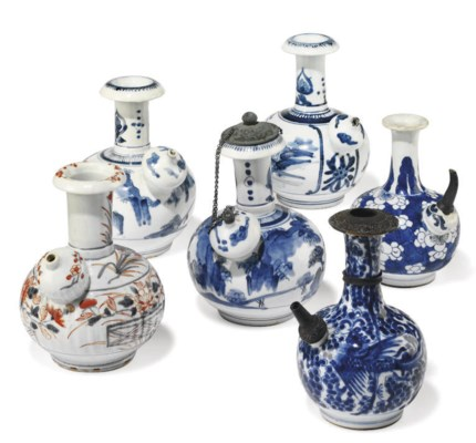 FOUR JAPANESE KENDI