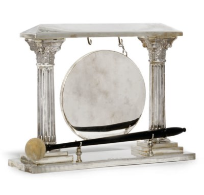 A SILVER GONG