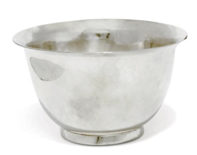 A GEORGE II IRISH SILVER BOWL