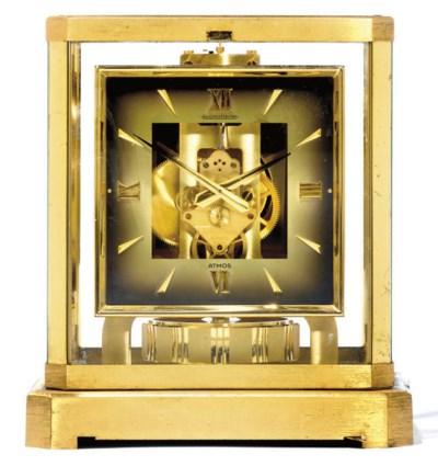 A Swiss gilt-brass Atmos timep
