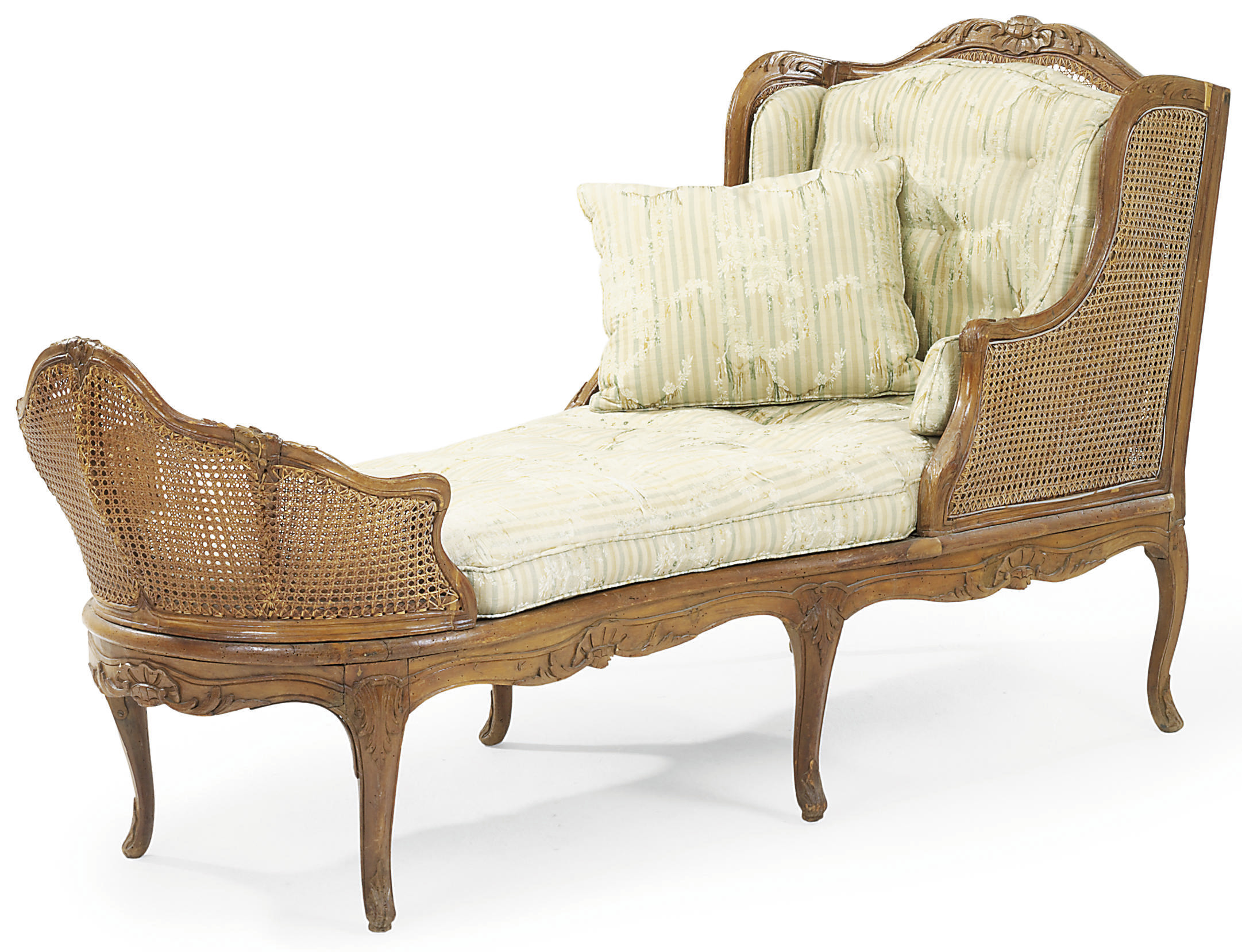 AN EARLY LOUIS XV BEECH AND CA