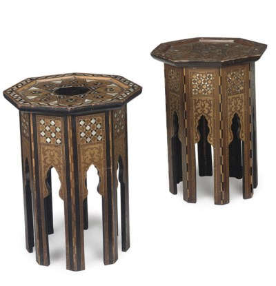 A MATCHED PAIR OF MIDDLE EASTE
