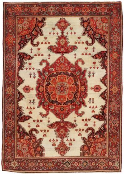A fine Malayir rug