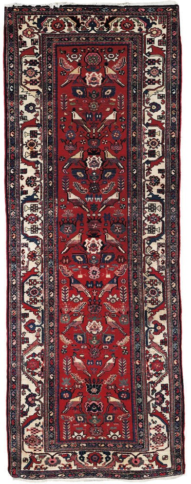 A lot of two Hamadan rugs