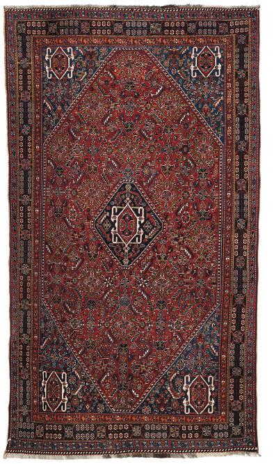A fine Qashqai large rug