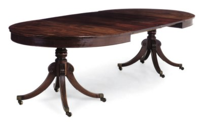 A MAHOGANY AND LINE INLAID TWI