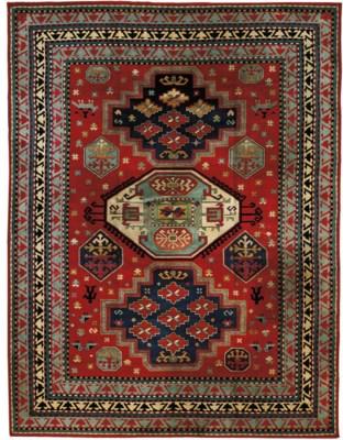 A fine tufted carpet of Caucas