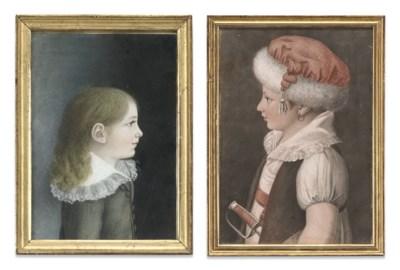 THIRTEEN SIMILAR FRENCH PASTEL