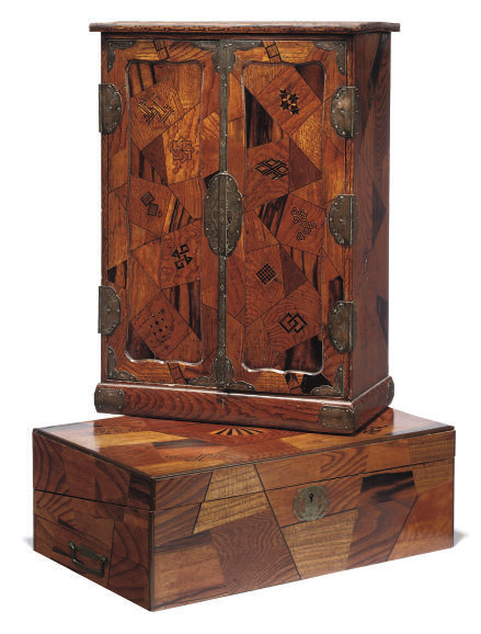 A JAPANESE PARQUETRY AND SPECI