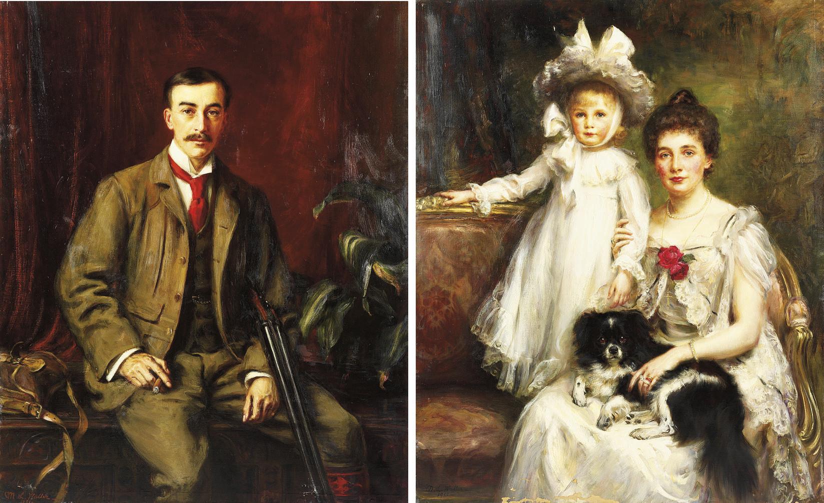 MARY LEMON WALLER (BRITISH, FL.1881-1929)