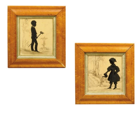 TWO PAIRS OF EARLY VICTORIAN S