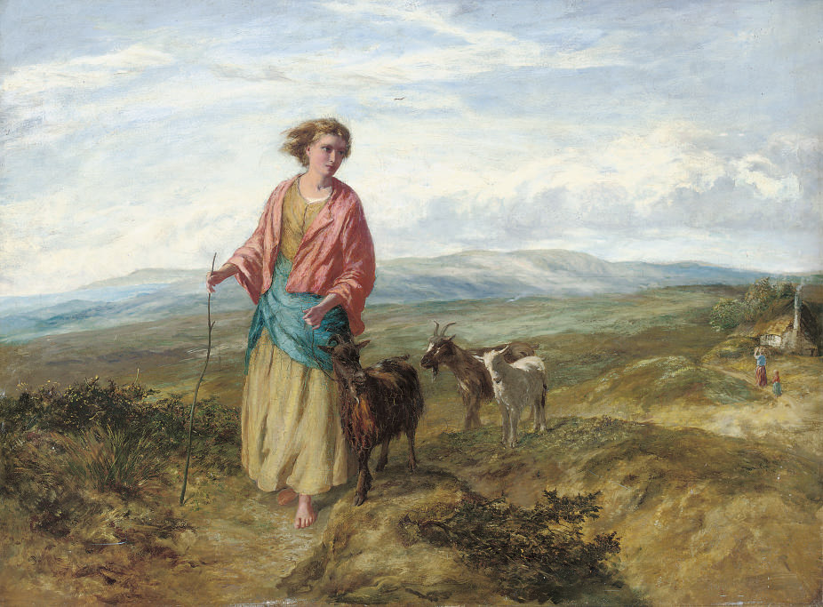 The goat herder's daughter