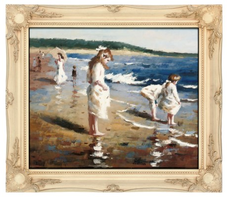 Manner of Joaquin Sorolla y Ba