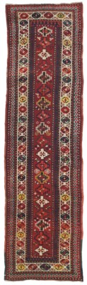 A KAZAK RUNNER, SOUTH CAUCASUS