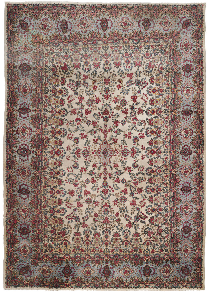 A KIRMAN CARPET, SOUTH PERSIA