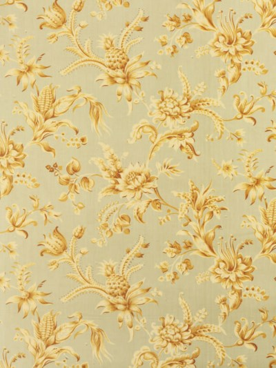 A BOLT OF UNUSED CHINTZ