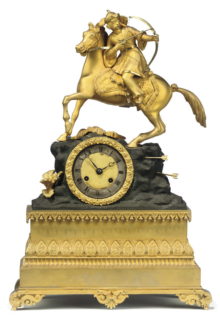 A LOUIS PHILIPPE BRONZED AND O