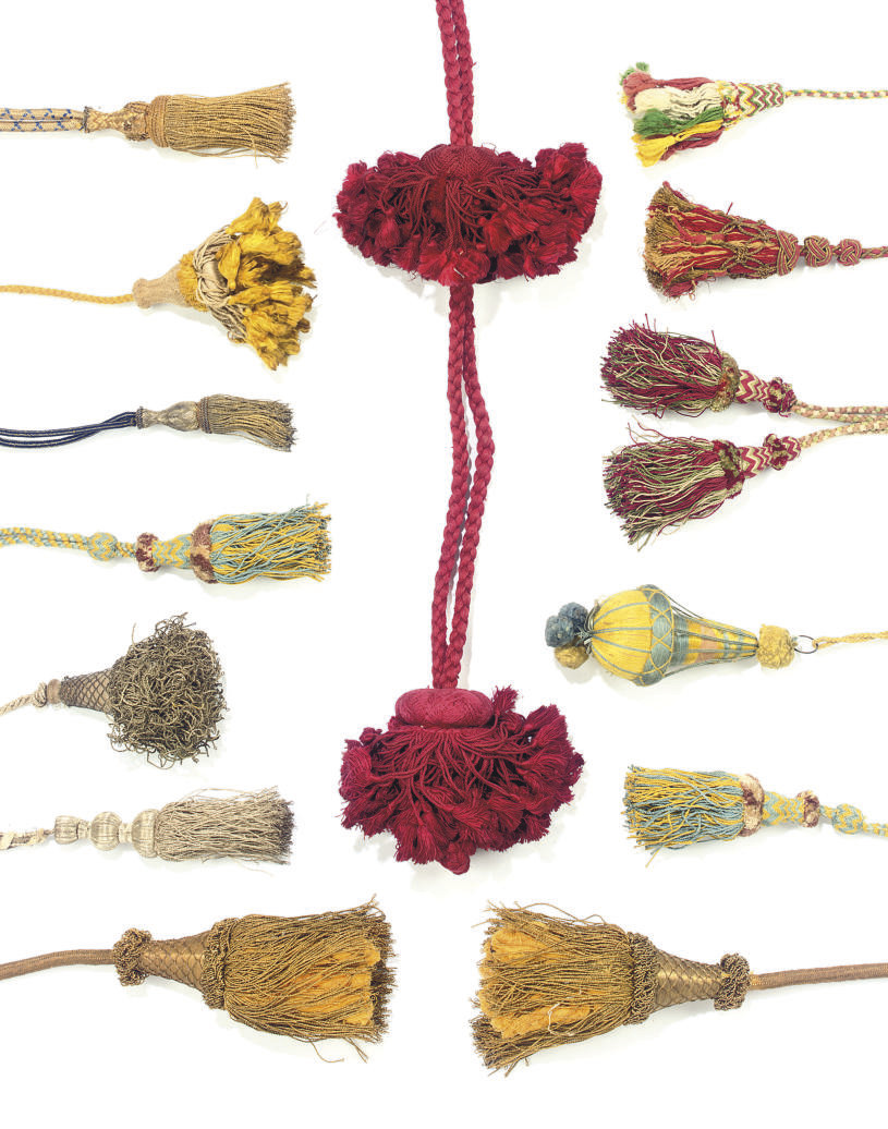 A COLLECTION OF TASSLES