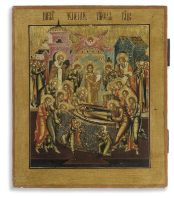 THE DORMITION OF THE MOTHER OF