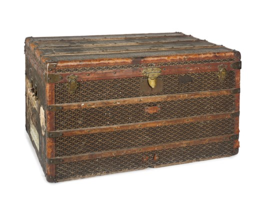 A LARGE DRESSING TRUNK