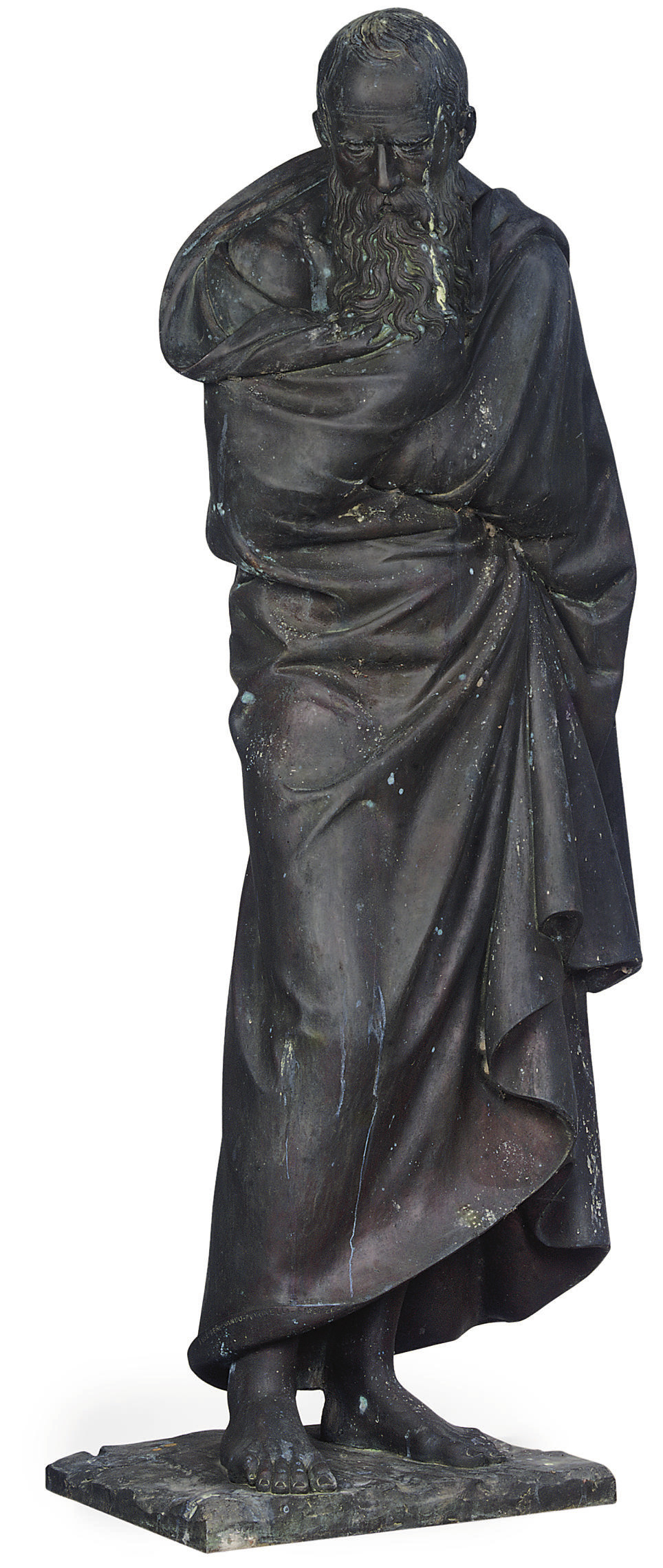A FLORENTINE BRONZE FIGURE OF