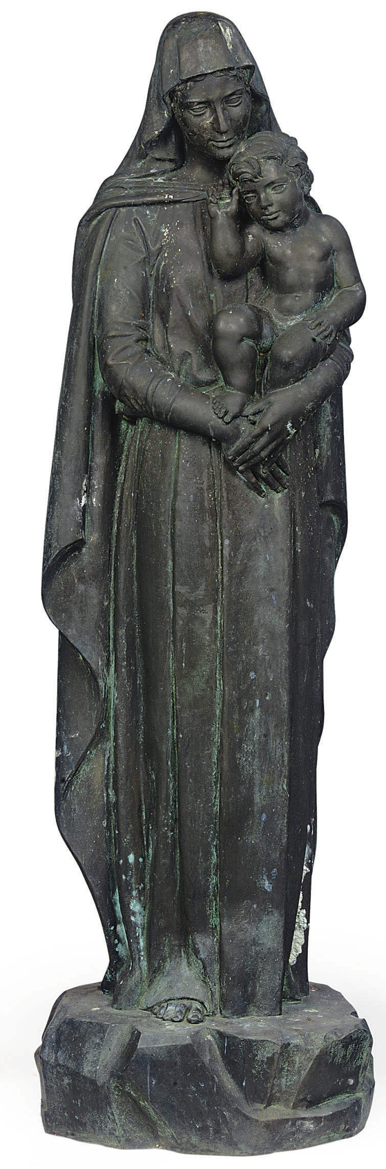 A FLORENTINE BRONZE GROUP OF T