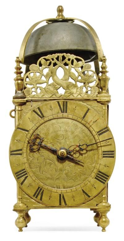 An English brass striking lant