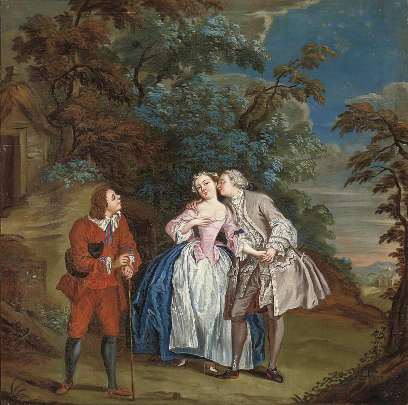 Manner of Jean François de Tro