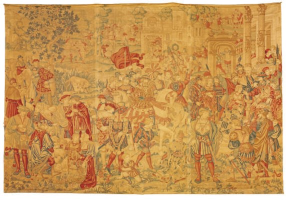 A TAPESTRY CARTOON FROM THE SE
