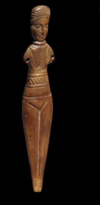 A ROMANO-EGYPTIAN BONE FEMALE