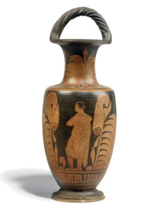 A CAMPANIAN RED-FIGURE BAIL AM