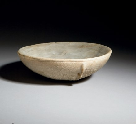 A CYCLADIC VEINED MARBLE SHALL