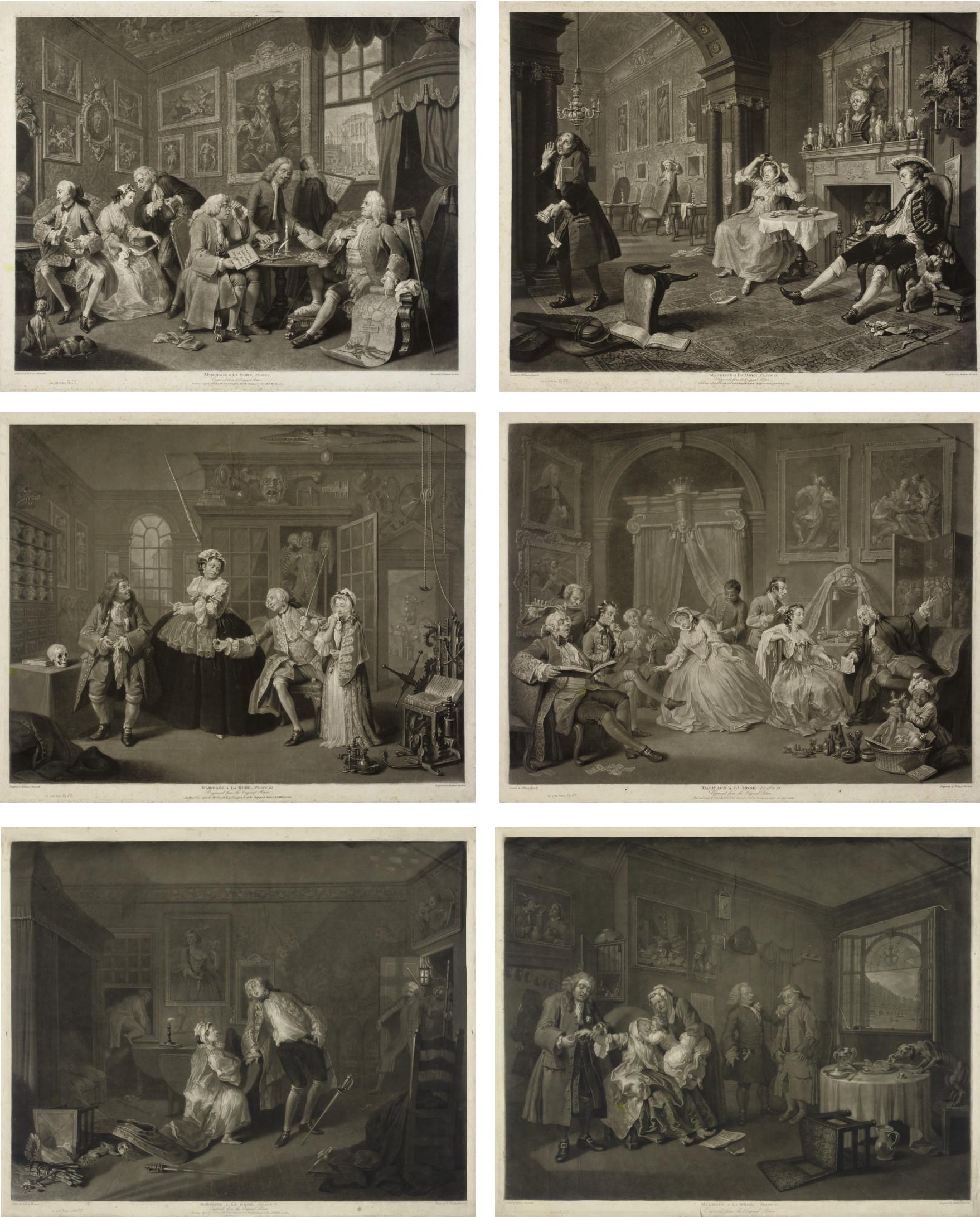 Richard Earlom (1743-1822), after William Hogarth