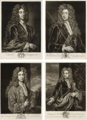John Faber II (1695-1756), aft
