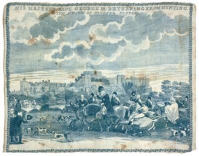 GEORGE III HUNTING AT WINDSOR
