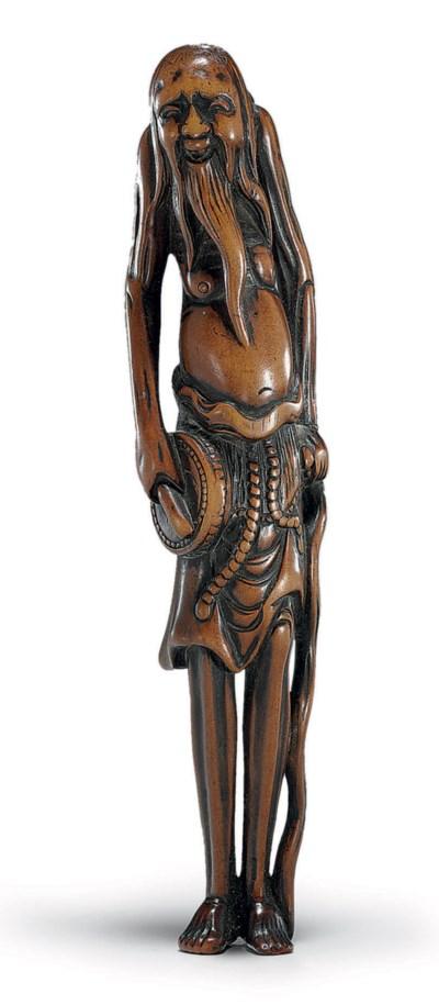 A Fine Wood Netsuke