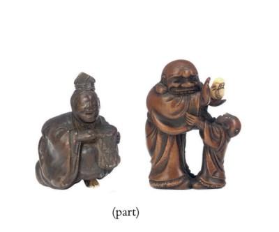 Ten Wood Netsuke
