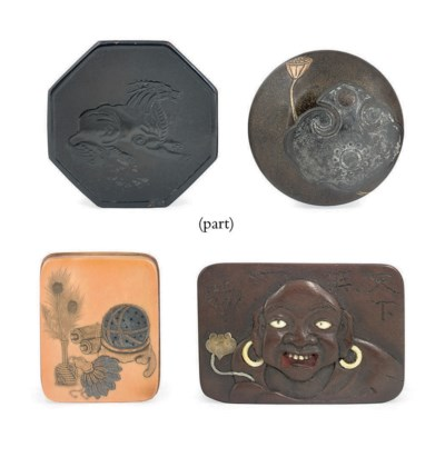 Six Various Netsuke