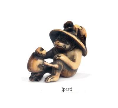 Six Ivory Netsuke