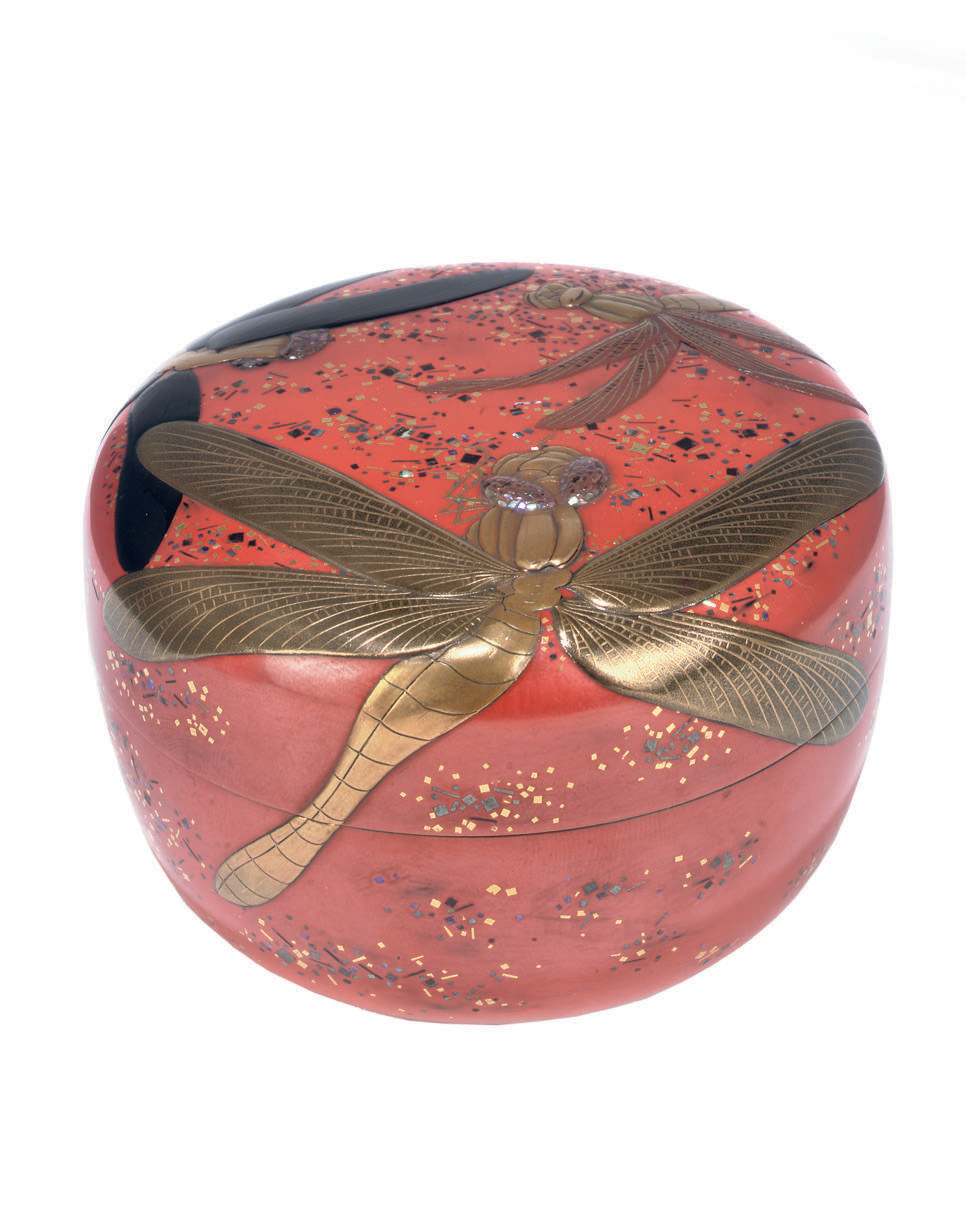A Lacquer Natsume [Tea Caddy]