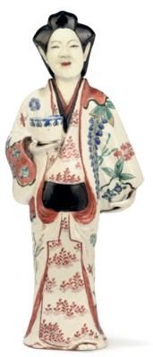 A Kakiemon Model of a Bijin