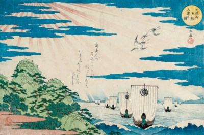 Yashima Gakutei (act. mid 1810