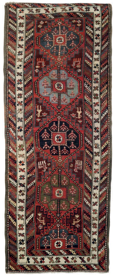An antique Talish long rug