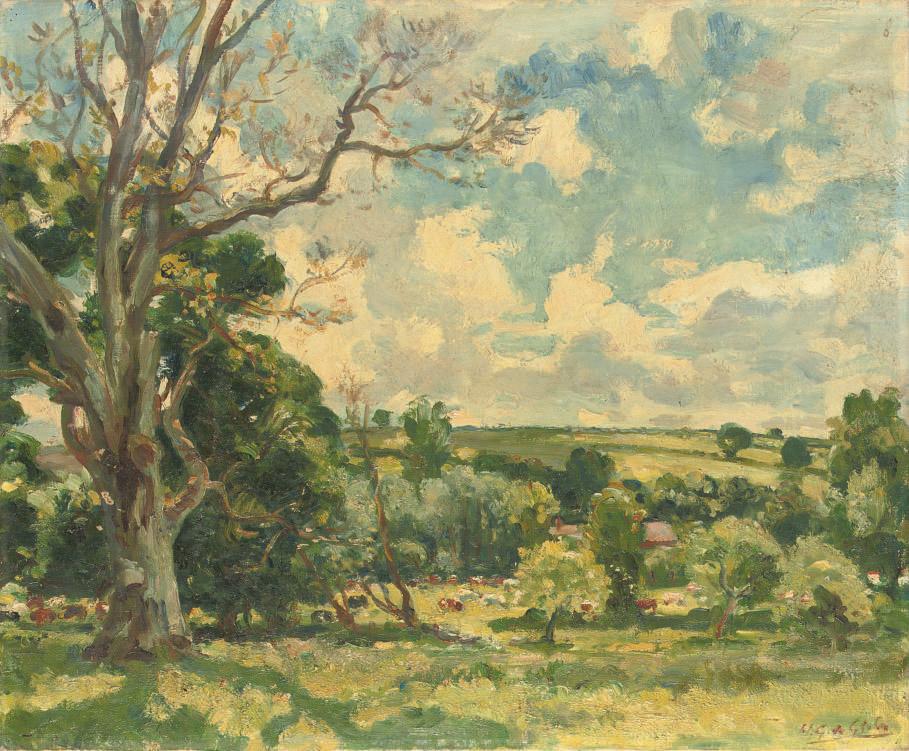 Wilfred Gabriel De Glehn, R.A. (1870-1951)